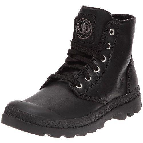 Palladium PAMPA HI LEATHERBLACKM 02355-001-M Herren Sneakers, Schwarz (Black) - schwarz - Größe: 40.5 - http://uhr.haus/palladium/40-5-eu-palladium-pampa-hi-leather-herren-sneakers
