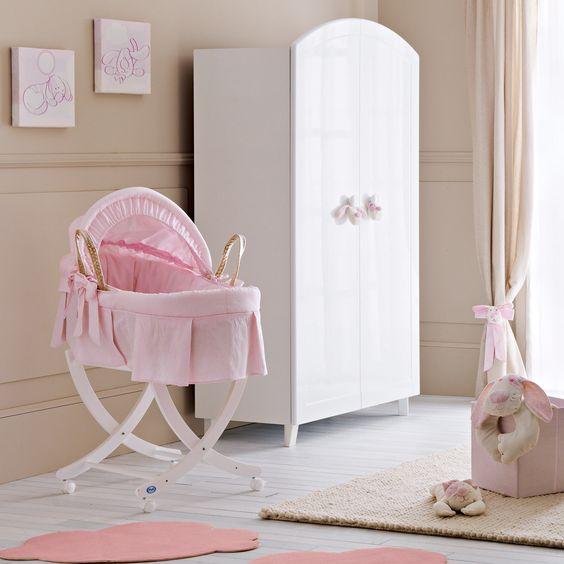 babykorb pali cicci coco mit passendem untergestell als. Black Bedroom Furniture Sets. Home Design Ideas