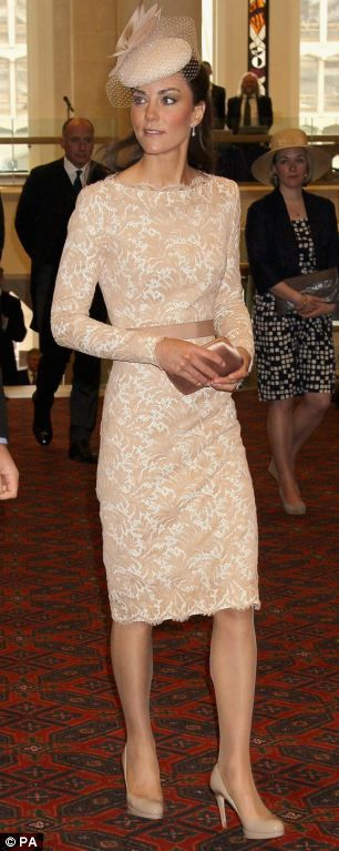 Catherine, Duchess of Cambridge attends a reception at Guildhall in central