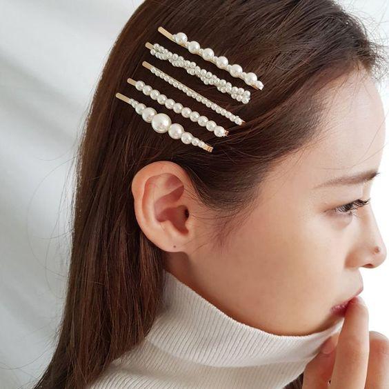 Pearl Hair Pin @ KOODING.com, the best in Korean and global fashion. - #fashion #global #Hair #KOODINGcom #Korean #Pearl #pin