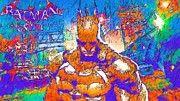 Batman Man Art by Super Hero