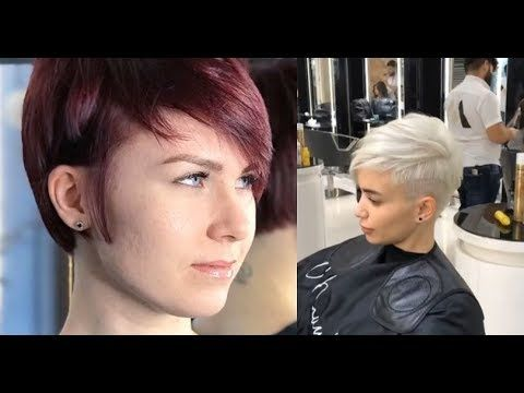 Youtube Short Hair Styles Short Pixie Haircuts Trending Haircuts