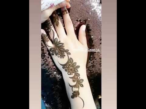 نقش حنااء ممتاز Youtube Henna Hand Tattoo Hand Henna Henna