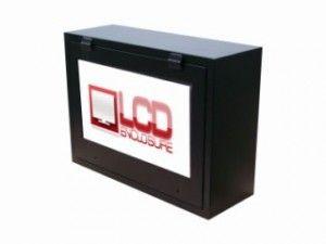 shatterproof TV enclosure