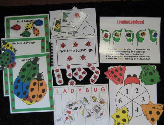 Ladybug Literacy Unit PDF Format