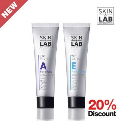 Double effect of Vitamin A  Vitamin E helps vitamin A to normalize the skin cell cycle and to makes your skin healthy.      - 20% Discount (USD 32.98  -> USD 26.40)  - Delivery from Korea to Global Everywhere       Brand : SKIN & LAB  All Skin Type  Volume: 30ml  Made in Korea