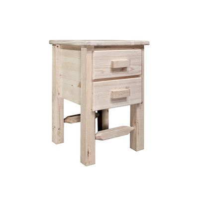 Homestead 2 Drawer Nightstand Finish: Lacquered - http://delanico.com/nightstands/homestead-2-drawer-nightstand-finish-lacquered-519455629/