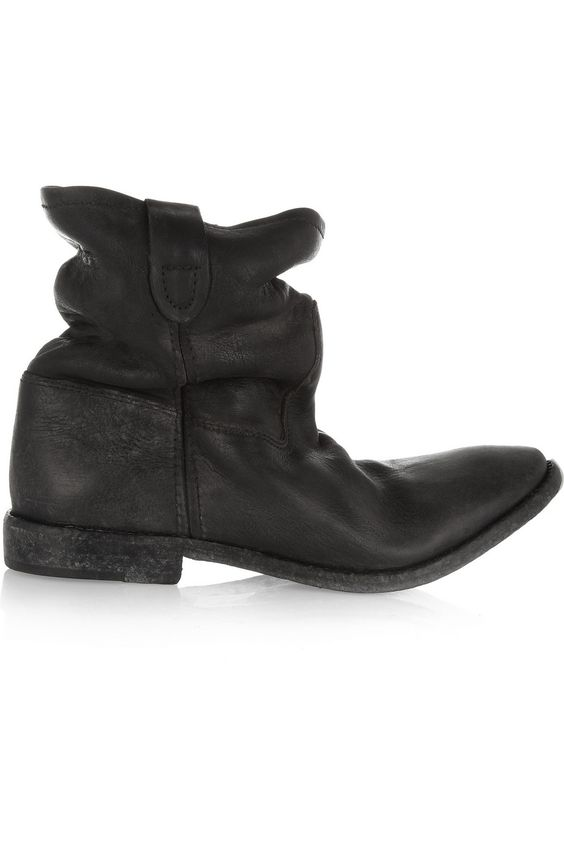 Isabel Marant | Jenny slouchy leather ankle boots