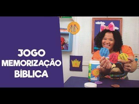 Jogo Memorizacao Biblica Youtube Memorizacao Jogos Escolas Dominicais