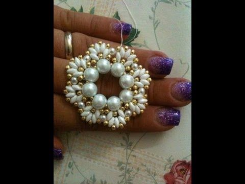 tutorial pendent with beads and superduo