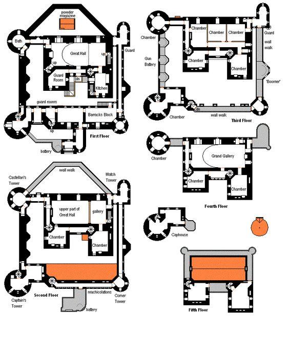 Medieval castle floor plans medieval castle floor plans for Medieval castle house plans