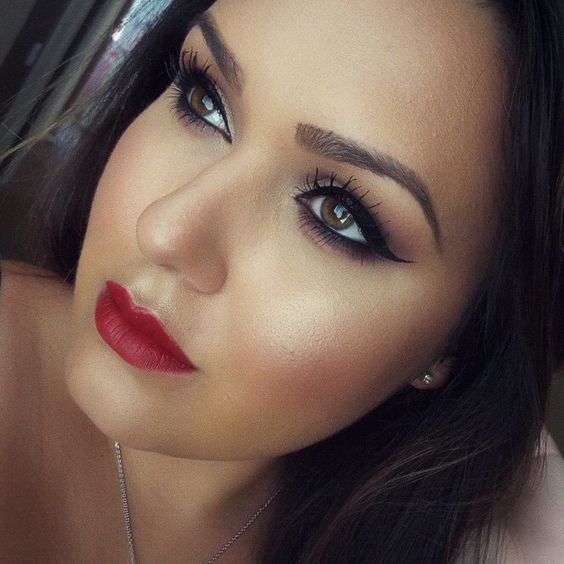 Makeup of the Day: SULTRY FALL LOOK by ashleymua. Browse our real-girl gallery #TheBeautyBoard on Sephora.com and upload your own look for the chance to be featured here! #Sephora #MOTD