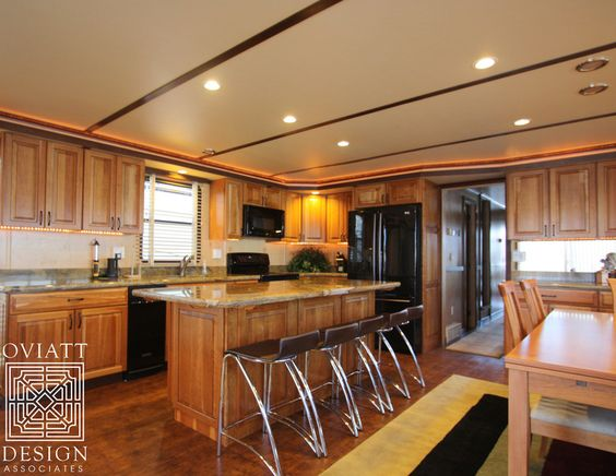 #Houseboat #Kitchen #OviattDesign #OviattDesignAssociates