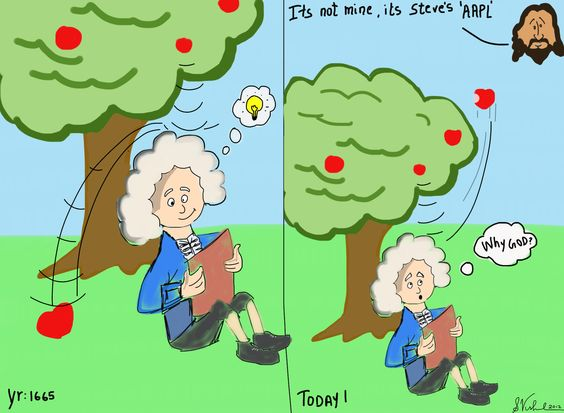 AAPL stock price influenced me to draw this :)
