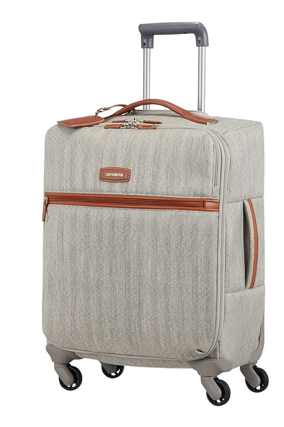 Samsonite Lite DLX Spinner 55cm Ash Grey