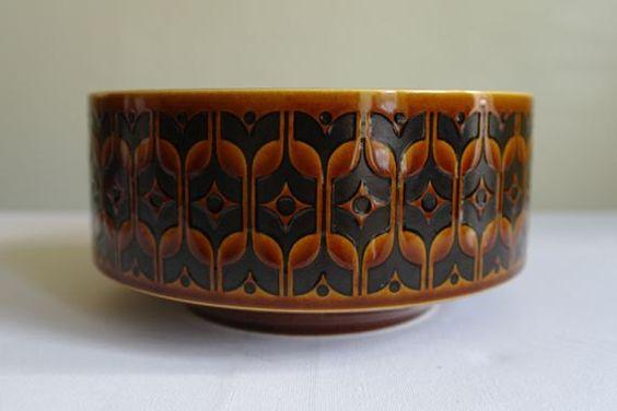 Hornsea Heirloom Autumn Brown Fruit Bowl by alltheseprettythings, £12.50