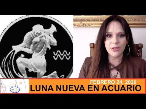 Luna Nueva En Acuario De 24 De Enero 2020 Y Cómo Afectará A Cada Signo Del Zodíaco Youtube Luna Nueva Signos Del Zodiaco Zodiaco