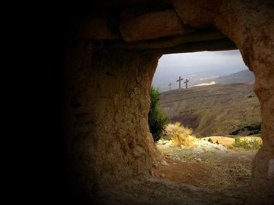 Empty tomb! He is risen!