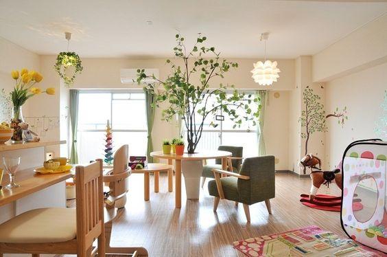 Big family living room