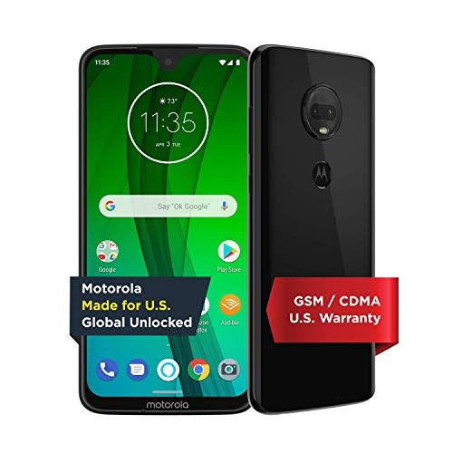 Moto G7 With Alexa Hands Free Unlocked 64 Gb Ceramic Black