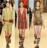 I like all three, but the first Safari Outfit is definitely me.