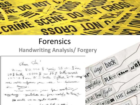 CSI Handwriting Analysis: Detective Badge Activity