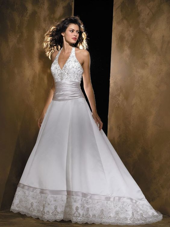 Halter Top Wedding Gowns - Halter Wedding Dresses (Source ...