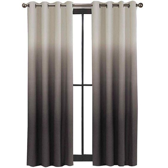 Colordrift Mystic Ombre Grommet Top Curtain Panel
