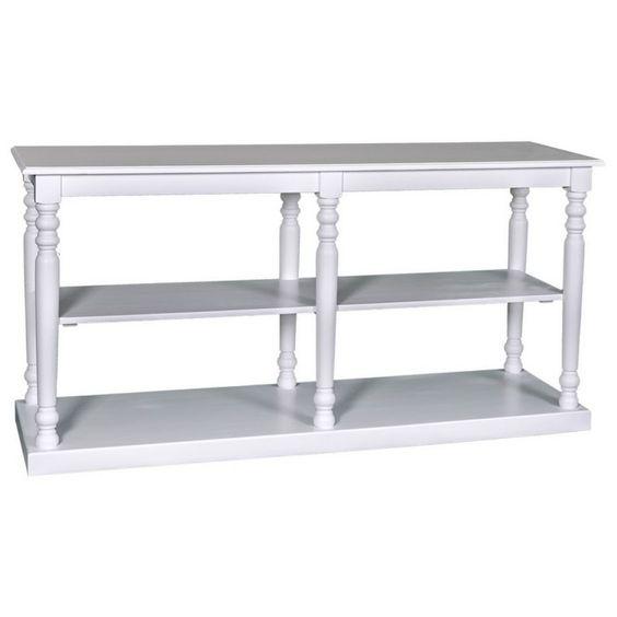 Wandtisch, weiß, Sideboard, Wohnzimmer, Esszimmer, Wohnen, Einrichten