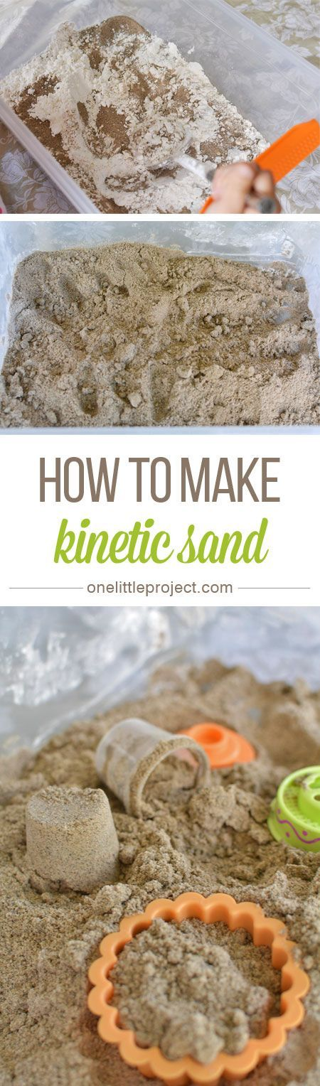 Diy Squishy Sand : Kinetic sand, Sands and How to make on Pinterest