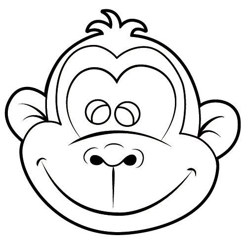 Affengesichter basteln- Verband Christlicher Pfadfinderinnen und Pfadfinder | Mehr als Abenteuer