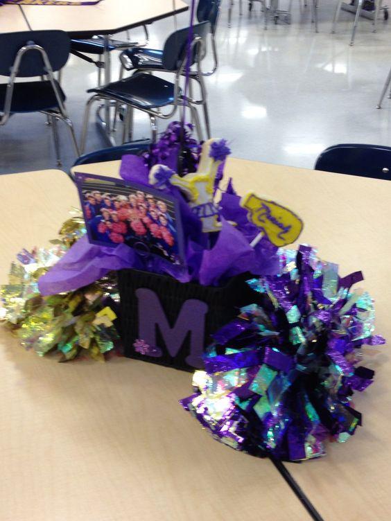 Senior gifts cheer banquet pinterest and