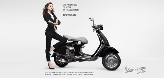 Are You Entitled to be One of the Lucky One?  #Vespa946