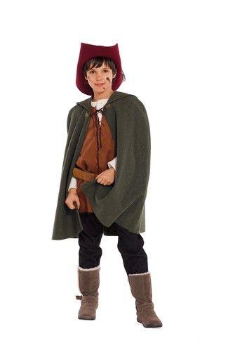 Schnittmuster: Historisches Kostüm - Robin Hood - Download - Kinderkostüme - Fasching - burda style