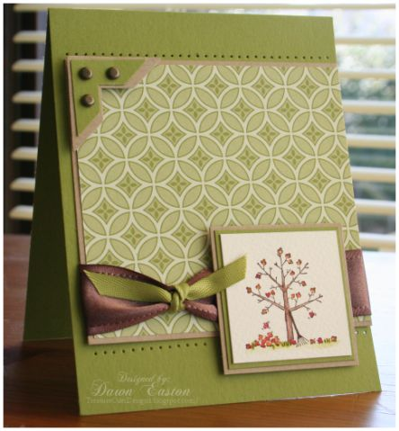 A Tree for all Seasons by TreasureOiler - Cards and Paper Crafts at Splitcoaststampers