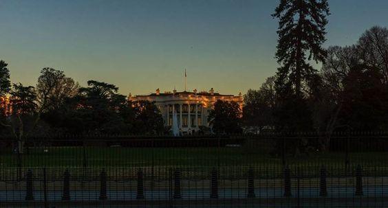 South Lawn Sunrise #sunrise #whitehouse #washingtondc #igdc by jayf85 #WhiteHouse #USA