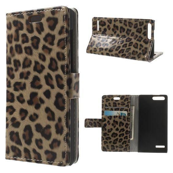 Mesh - Huawei Ascend G6 4G Hoesje - Wallet Case Luipaard | Shop4Hoesjes
