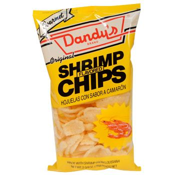 Dandy's Shrimp Chips 2.7 oz (fave type shrimp chips)