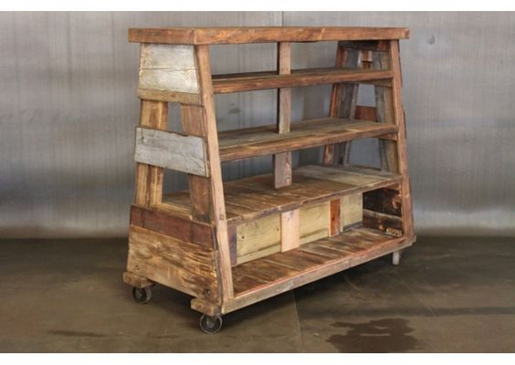 reclaimed wood shelve by Cleveland Art - Reclaimed Wood Shelve By Cleveland Art P R A C T I C A L