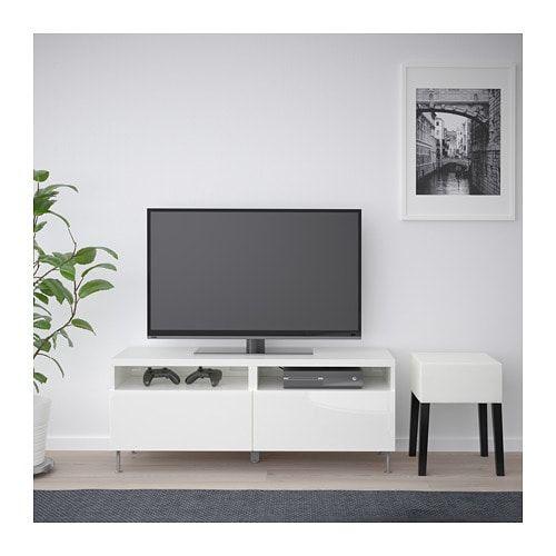 Goedkoop Tv Meubel Ikea.Besta Tv Meubel Met Lades Zwartbruin Selsviken Stallarp