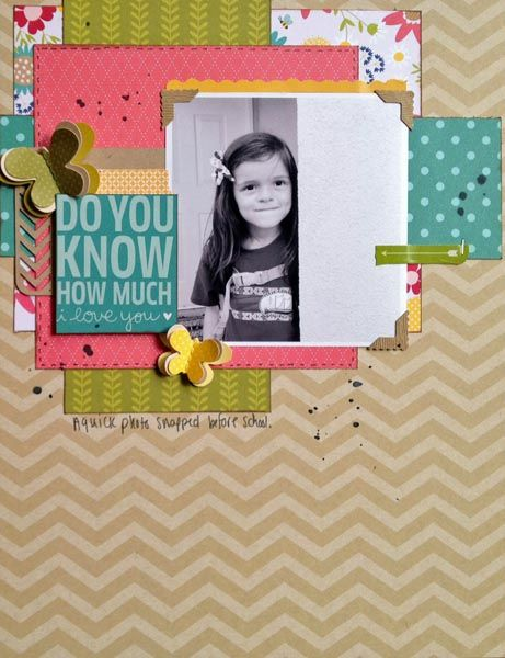 Layout by Shawna Webster for Pebbles Inc
