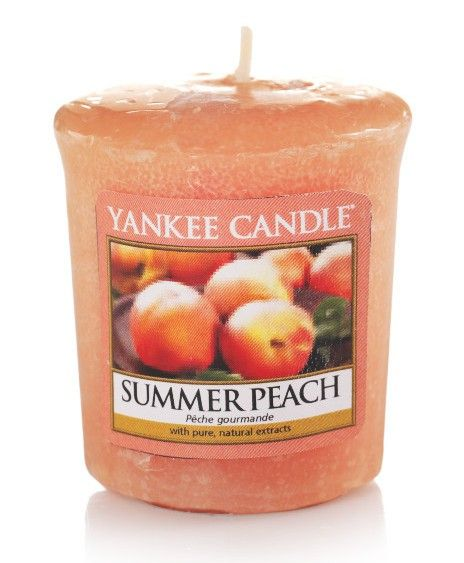 Pêche d'été - Bougie parfumée votive - Boutique Yankee Candle