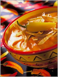 Posole Green Chile Chicken Stew Chile-Sparked Sweet Potato Soup Green ...