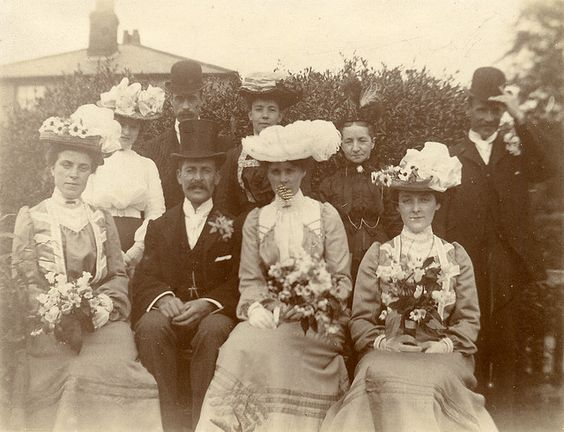 Victorian wedding group by lovedaylemon, via Flickr