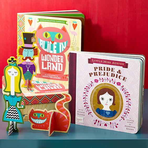 Take a look at the BabyLit event on zulily today! These books are so cute. #classics