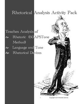 an understanding of rhetorical analysis Analyze texts rhetorically and to use rhetoric effectively as they compose   already know a great deal about, and teachers who understand that are well on  their.