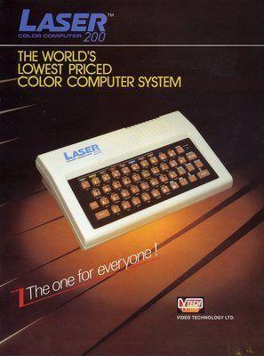 Vtech Laser 200 Brochure (1983).