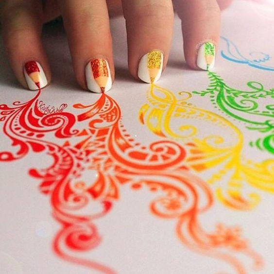 Love this  by @colour_me_creative ! So creative