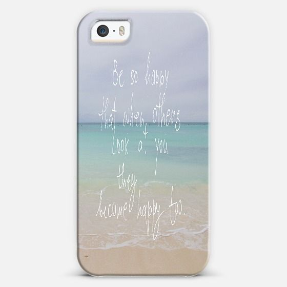 Be so happy iPhone 5s case by Marianna Tankelevich |  Personalize your iPhone and Samsung Galaxy device case using Instagram, Facebook and personal photos at Casetify.com