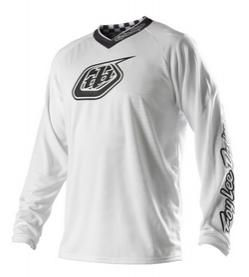 Troy Lee Designs - 2013 GP White-Out Jersey (Youth)